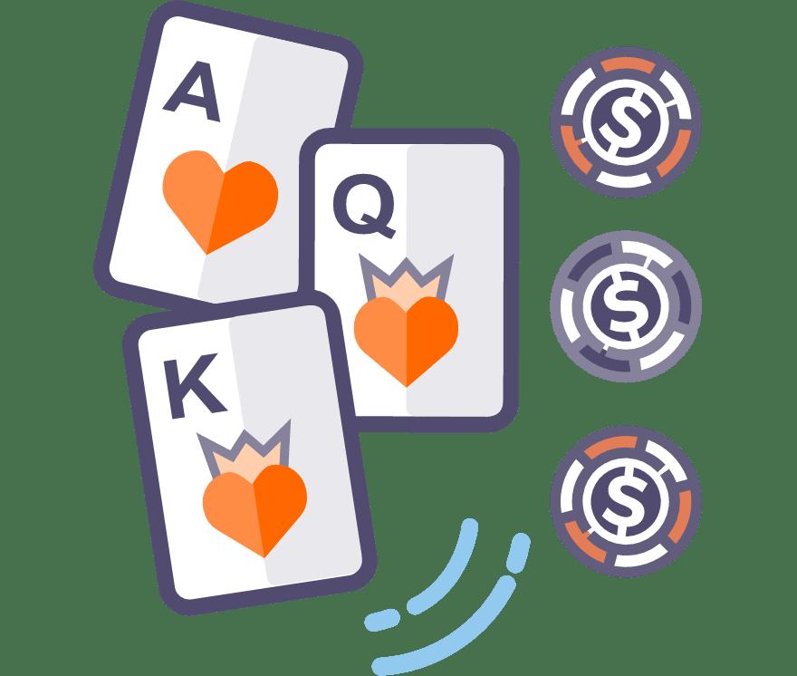 スリーカードポーカー モバイルカジノ